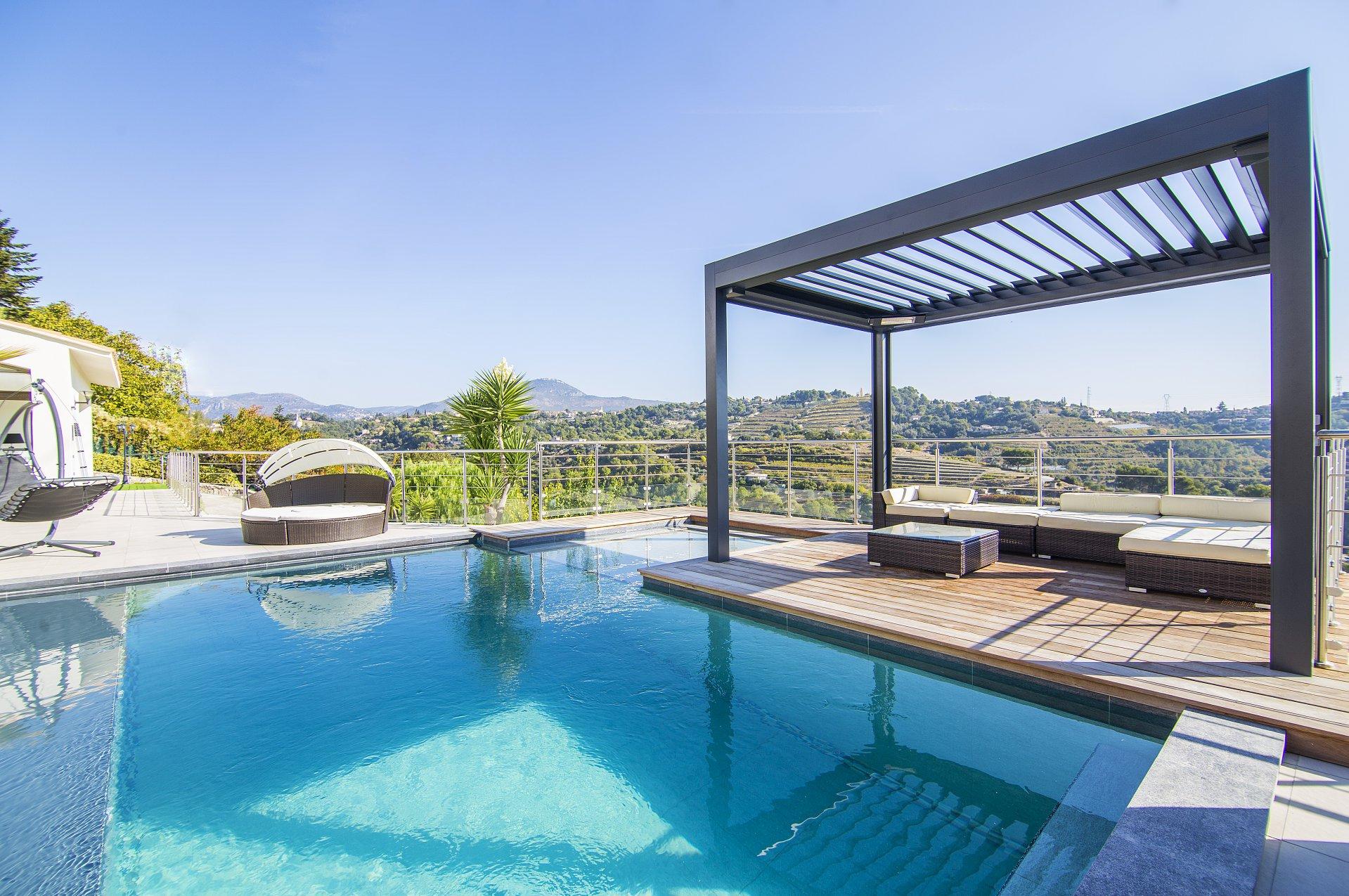 villa moderne Nice Ouest